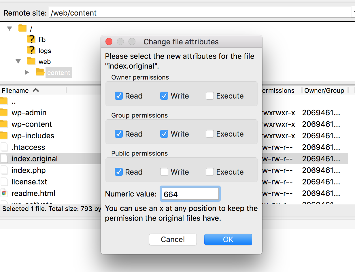 File Permissions – iThemes Help Center