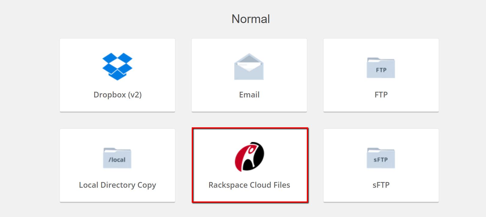 Rackspace – iThemes Help Center